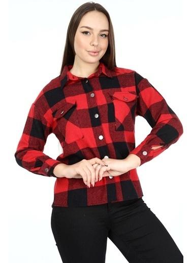Rodi Jeans Gömlek Kırmızı